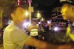 胆大包天!翁旗一男子醉酒打交警