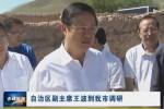 自治区副主席王波到红山区、松山区、翁旗进行调研