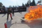 赤峰学院:开学第一课 消防进校园