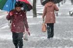 赤峰迎来2018年第一场雪平均气温下降6—8℃