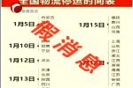 国家邮政局:春节快递停运为假消息!