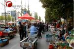 红山区综合整治马路市场