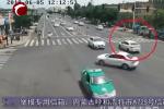 左转车与直行车相撞,看看因为啥被判全责?