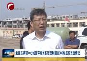 孟宪东调研中心城区环城水系治理和国道306城区段改造情况