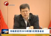 市政府召开2019年第3次常务会议