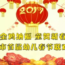金鸡纳福 童贺新春--赤峰市首届幼儿春节联欢晚会