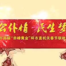 """赤峰首届""""赤峰黄金""""杯""""公仆情 民生梦""""市直机关春节联欢晚会"""