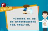 《疫情防控小知识》(161)  中小学校秋冬季疫情防控指南(七)