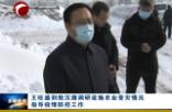 王旺盛到敖汉旗调研设施农业受灾情况指导疫情防控工作