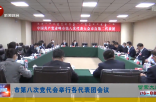 市第八次党代会举行各代表团会议
