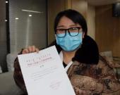 内蒙古援鄂护士改婚期:走时别送我 回来要接我