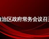 布小林主持召开自治区政府常务会议 听取当前新冠肺炎疫情防控工作和经济运行情况汇报