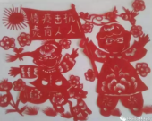 【巴林右旗】退休教师用剪纸宣传防控知识