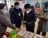 【元宝山区】市场监管局新推出扫码登记出入制度