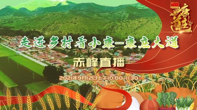 【直播回放】《走进乡村看小康--康庄大道》赤峰直播