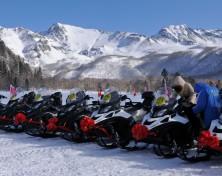 达里湖全国雪地摩托大赛