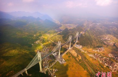 世界最大跨径多塔斜拉桥建成