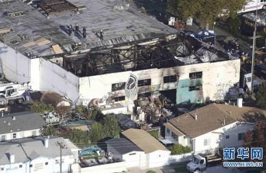 美国奥克兰仓库火灾致死人数升至33人