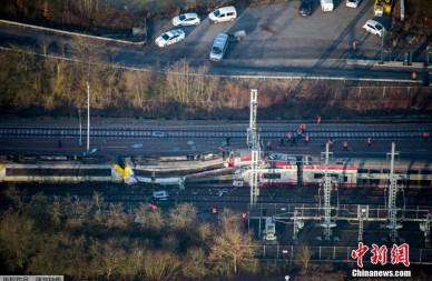 卢森堡发生火车相撞事故 致多人死伤