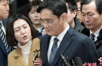 韩国三星掌门人李在镕被批捕