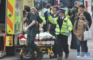 英国发生恐怖袭击事件致5人死亡