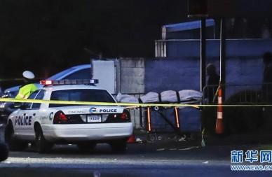 美国俄亥俄州发生枪击事件15人伤亡