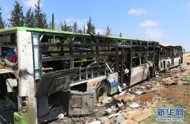 叙什叶派撤离人员遇袭事件死亡112人