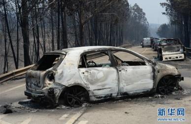 葡萄牙森林火灾造成至少62人死亡