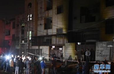 印度一烟花厂突发大火造成17人丧生