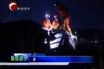 赤峰一大卡车侧翻司机被困 消防成功营救