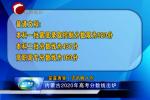 内蒙古2020年高考分数线出炉